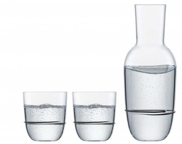 Zwiesel Glas - Aura Set Schwarz - 121693 - fstb