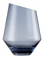 Vase / storm light small blue Diamonds