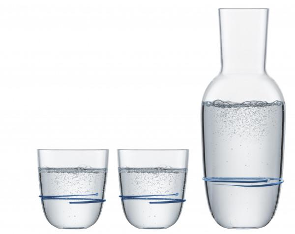 Zwiesel Glas - Aura Set Blau - 121694 - fstb