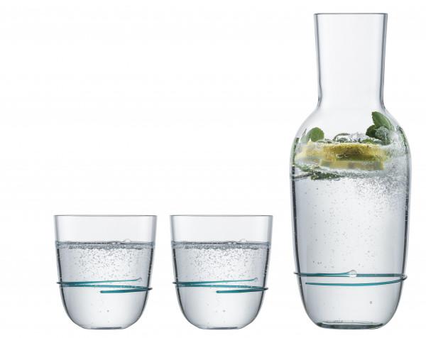 Zwiesel Glas - Aura Set Smaragdgrün - 121695 - fstb