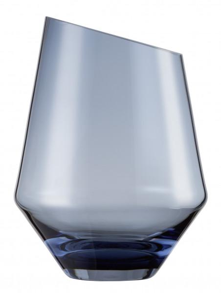 Zwiesel Glas - Vase / Windlicht klein blau Diamonds - 122216 - Gr220 - 1
