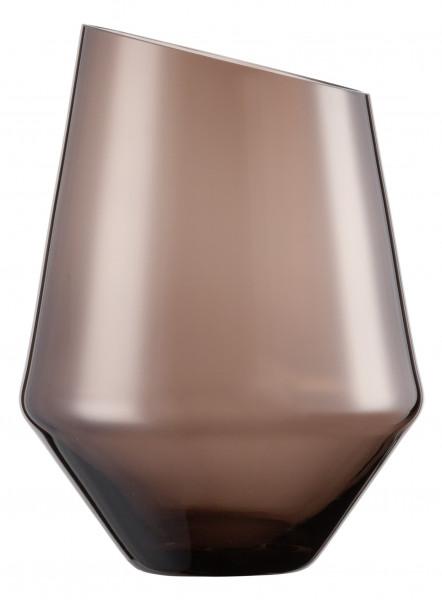 Zwiesel Glas - Vase / Windlicht klein smoky Diamonds - 122219 - Gr220 - fstu