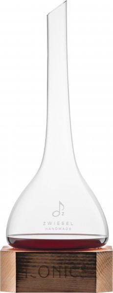 Zwiesel Glas - Dekanter Iconics mit Holzsockel - 122238 - Gr750 - fstb-3