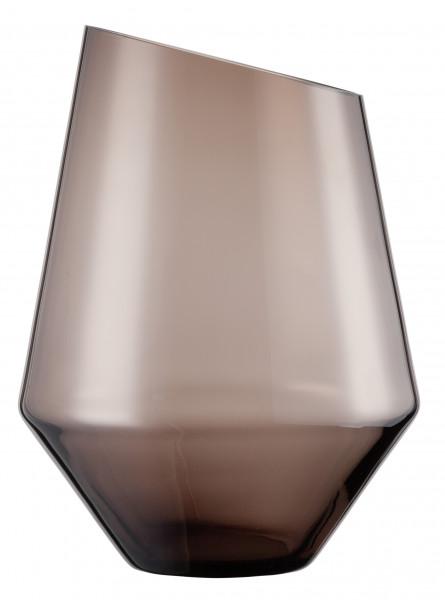 Zwiesel Glas - Vase / Windlicht groß smoky Diamonds - 122220 - Gr277 - fstu